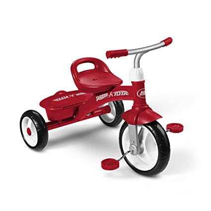 7033cf8eeea Radio Flyer, Triciclo, Rojo: Radio Flyer - Import: Amazon.com.mx ...