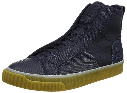 3095067308 G-Star RAW Scuba Mid Denim, Zapatillas Altas para Hombre, Azul (Dk Navy),  40 EU: Amazon.es: Zapatos y complementos