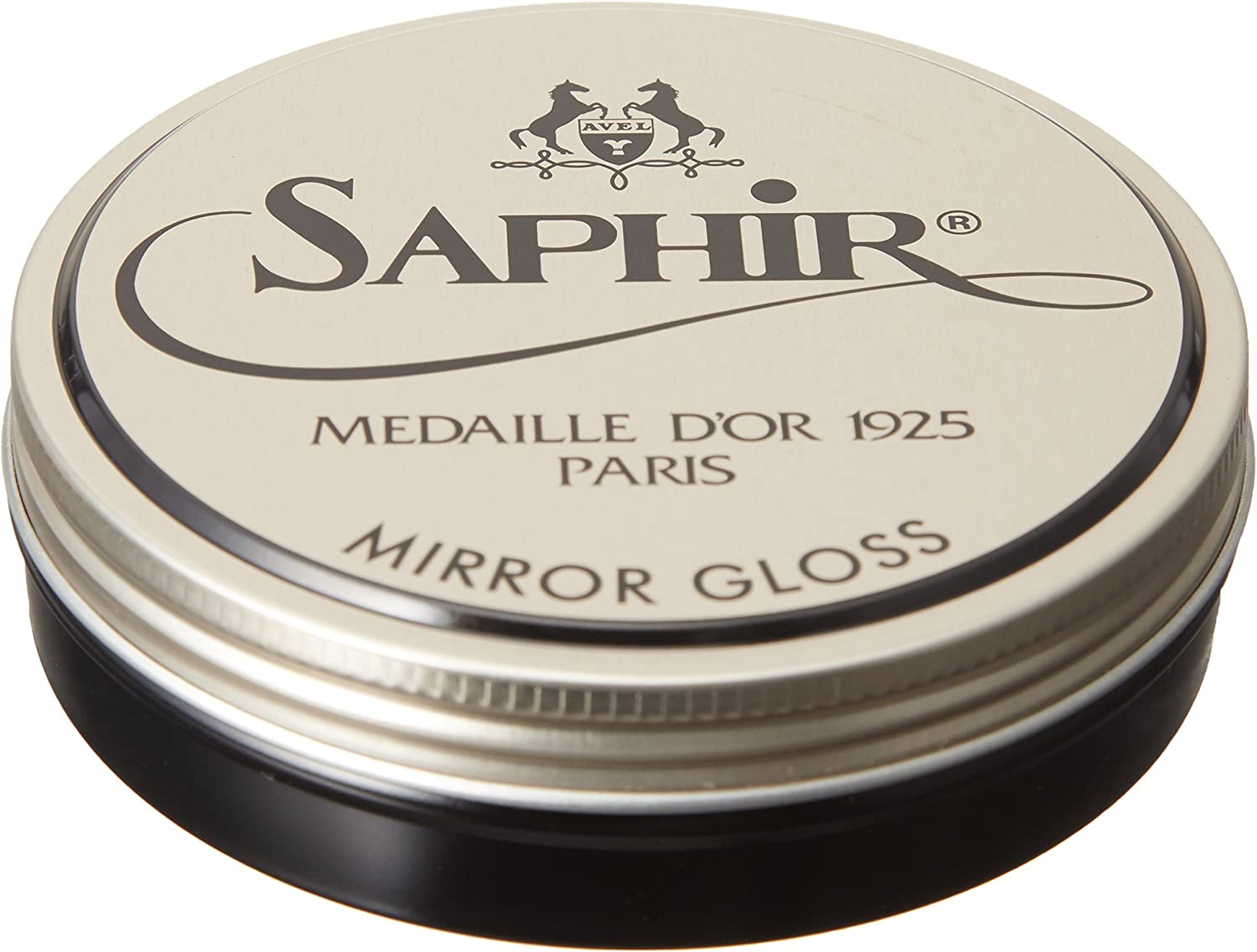 Saphir Medaille d'Or Mirror Gloss - Natural Wax Polish for Leather Shoes & Boots