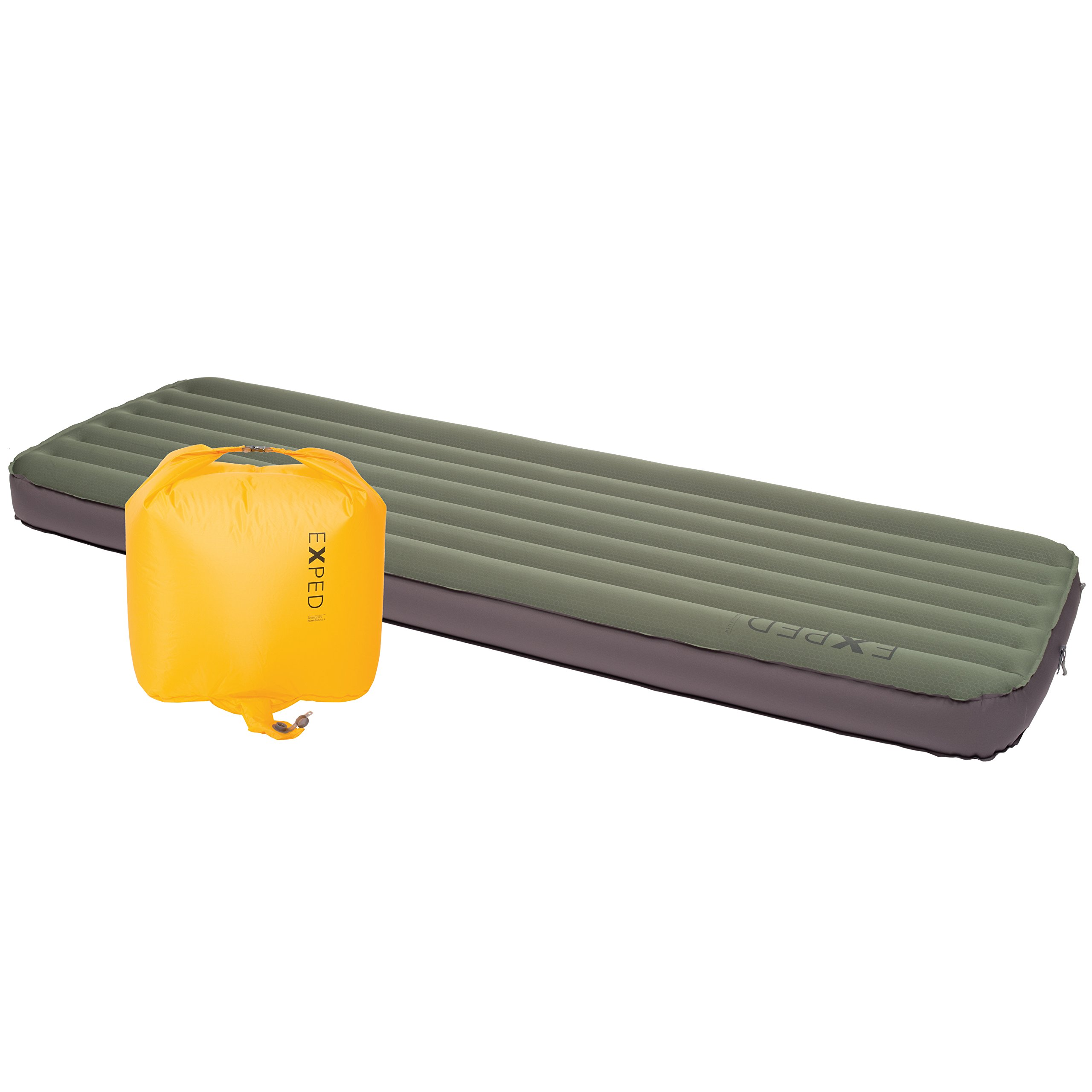 Exped MegaMat Lite 12 Sleeping Pad, Green, Large Wide by Exped