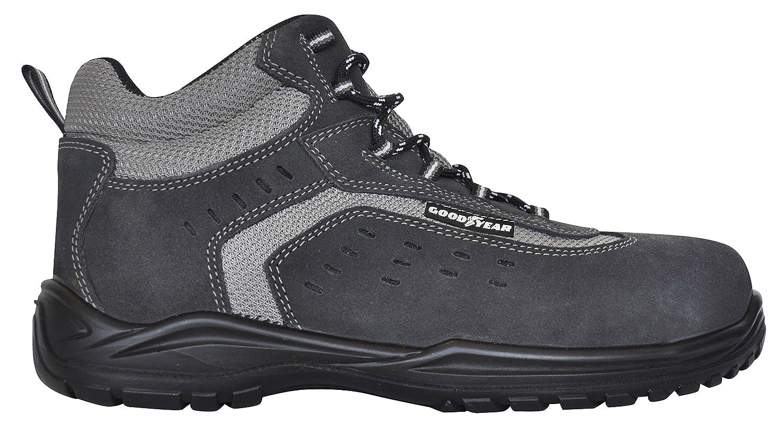 Goodyear g1388401 C – Stiefel Leder (Rindsleder) grau, grau, grau, grau, G1388401C - bfd24f