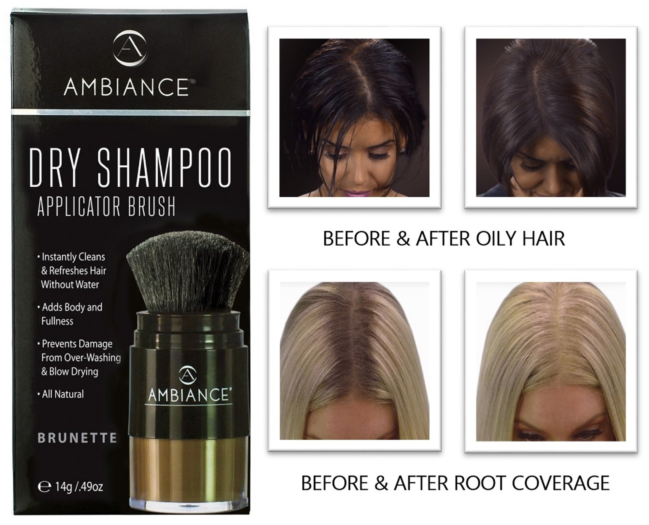 Amazon Ambiance Dry Shampoo Blonderefreshes Conceals Roots