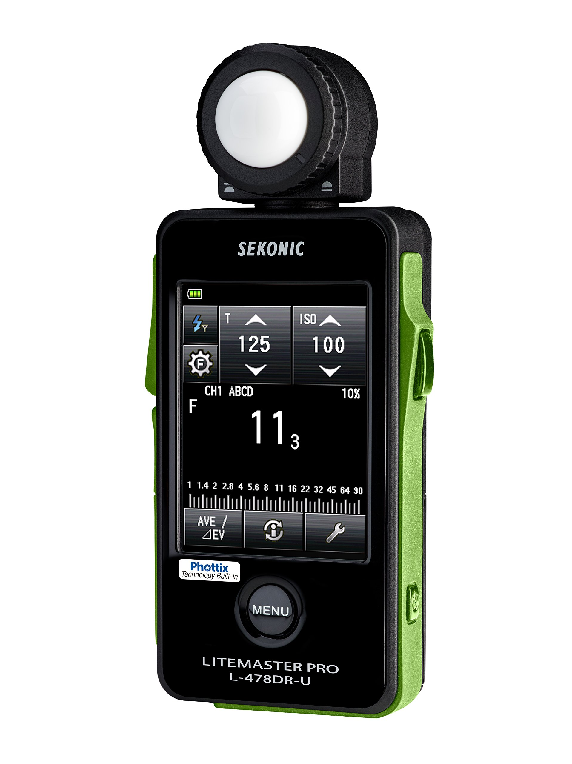 Sekonic Corporation L-478DR-U-PX Phottix ARES II Trigger & Receiver Light Meter, Black (401-476ARESII) by Sekonic