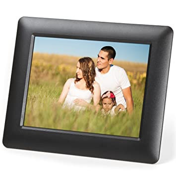 micca m703 7 inch 800x600 high resolution digital photo frame with auto onoff