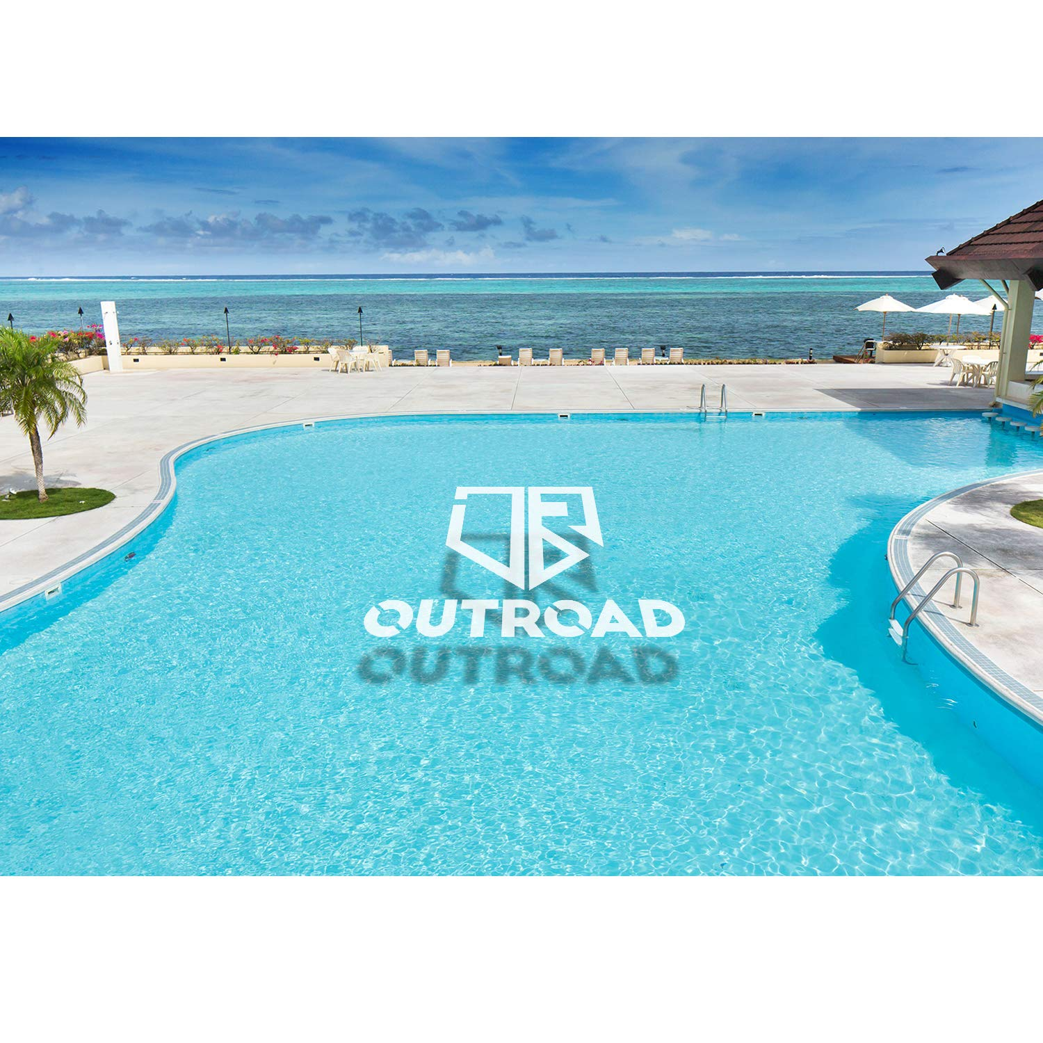Outroad Floating Mat 12' X 6' - Recreational Floating Foam Pad Adults Kids (Blue)- Lily Pad Used in Ocean/Lake by OUTROAD OUTDOOR CAMPING GARDEN PATIO (Image #7)