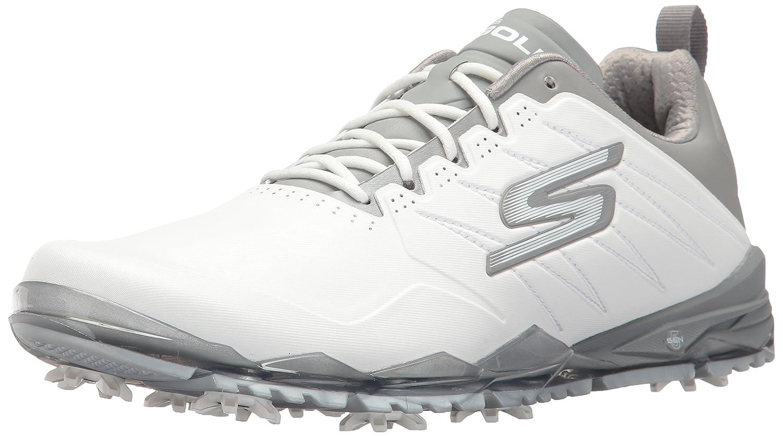 Skechers Mens Athletic Shoes B06XSBJF3T 9 M US|ホワイト/グレー ホワイト/グレー 9 M US