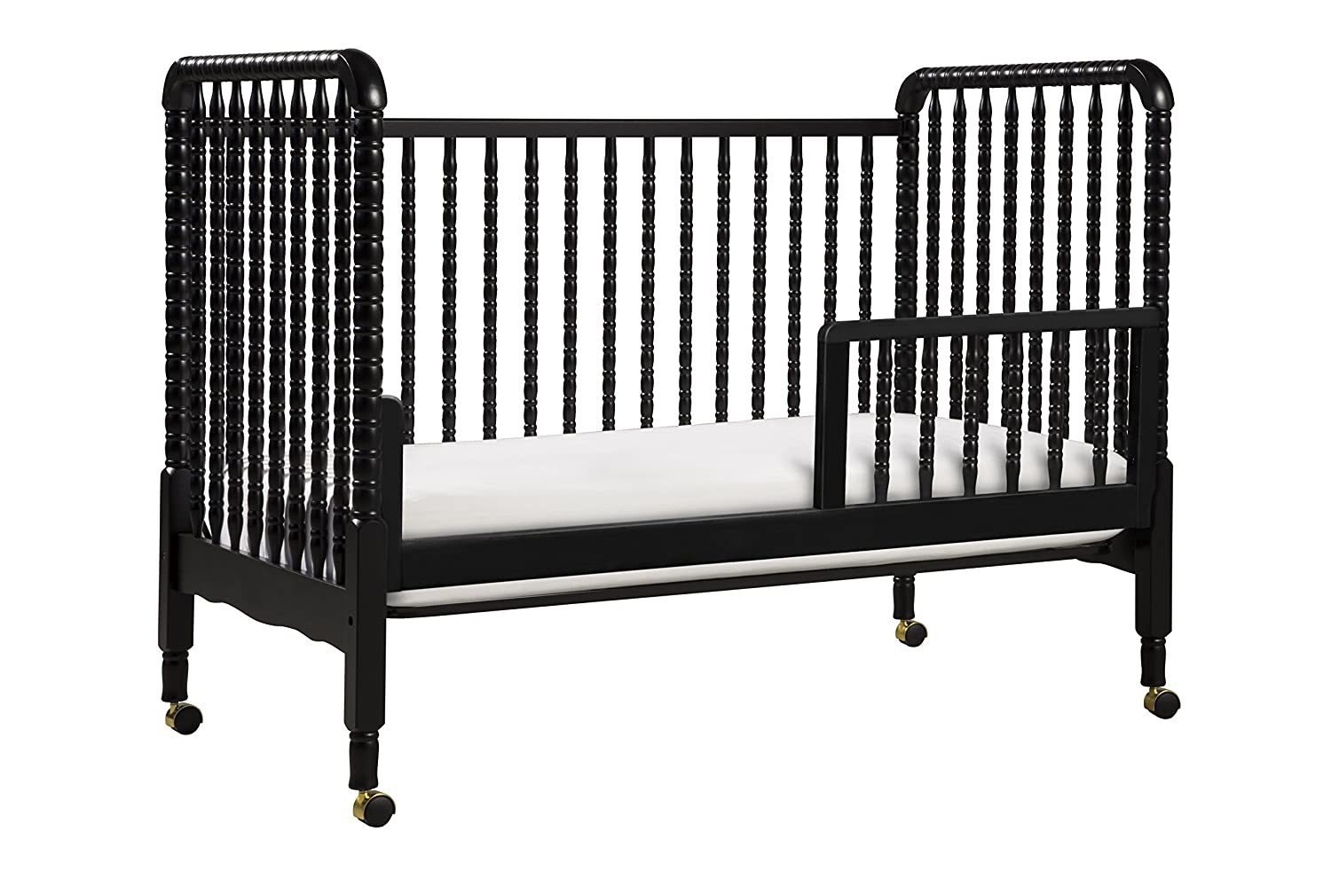 crib naomi dp toddler baby with in amazon cribs athena beds espresso rail com