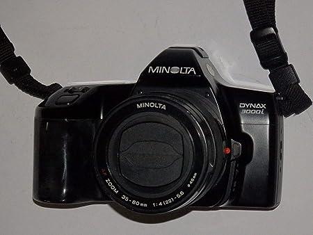 Analógico fotos - Minolta Dynax 3000i - SLR Camera - Sólo el Body ...