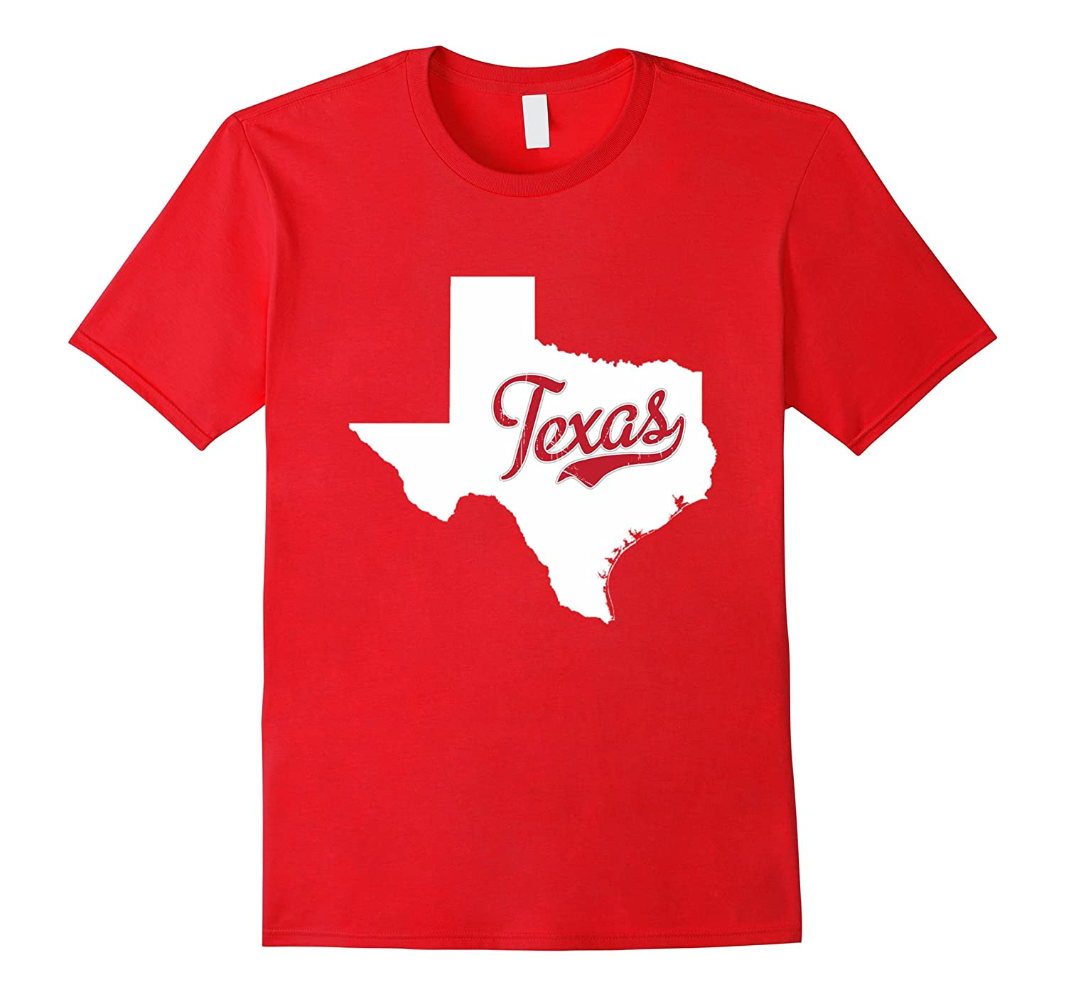 Texas is my home T Shirt - Funny Texas map Shirts-Vaci