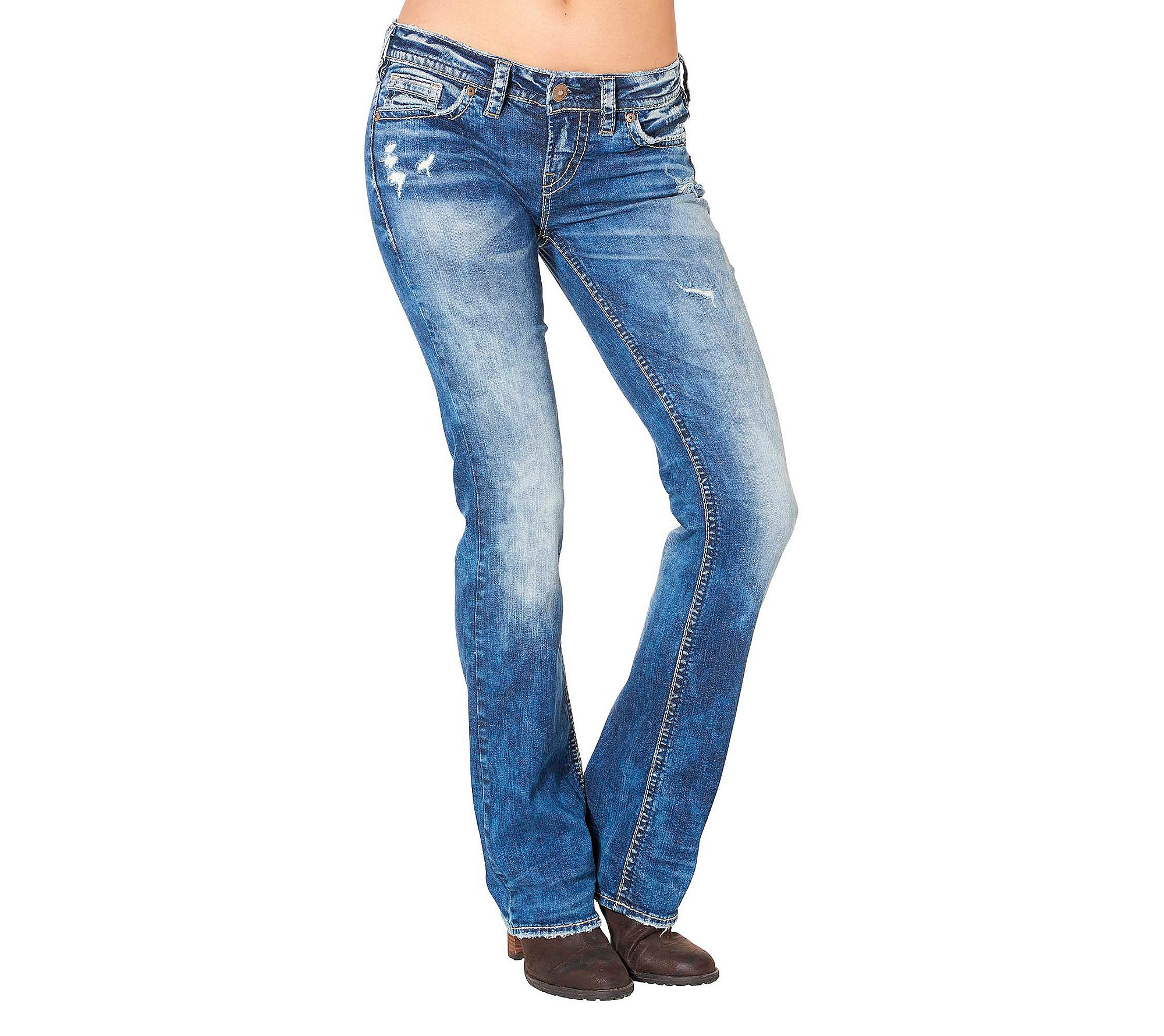 Silver Jeans Co. Aiko Mid Boot Jeans 26
