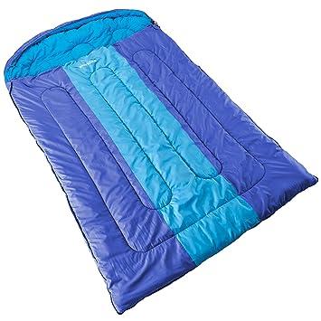 Skandika Orkney -16121 -Saco de dormir doble -2 personas -235 x150 cm