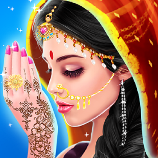 Amazon com: Indian Doll Bride Wedding Girl Makeup And