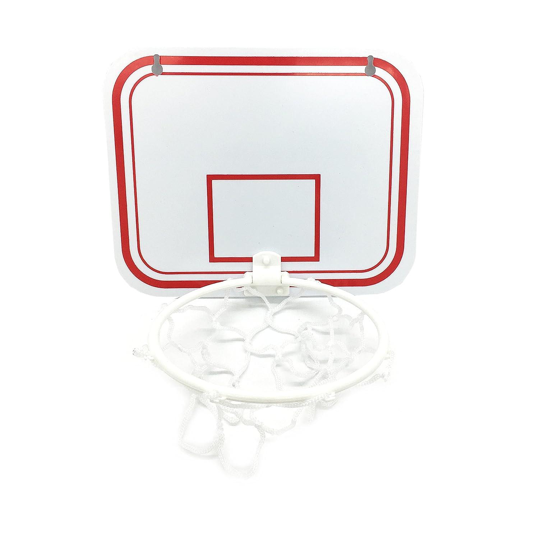 silfraeバスケットボールゴミ箱ゲーム、壁掛けバスケットボールバスケット、楽しいゲームのバスルーム、オフィス、リビングルームとベッドルーム B07BVTT43C Without Clip