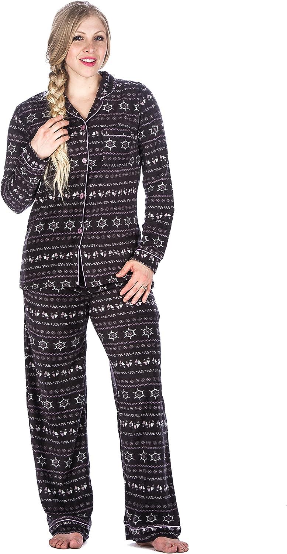 Simple Mens Women Winter Warm Pajamas Ultra Soft Couple Sleepwear Skin-friendly