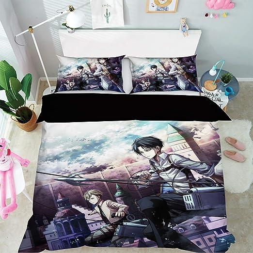 Bettwäsche Quilt Cover A6 Shingeki no Kyojin Attack on Titan Tagesdecke Sheet