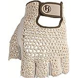 HJ Glove Women's Snow White Original Half Finger Golf Glove