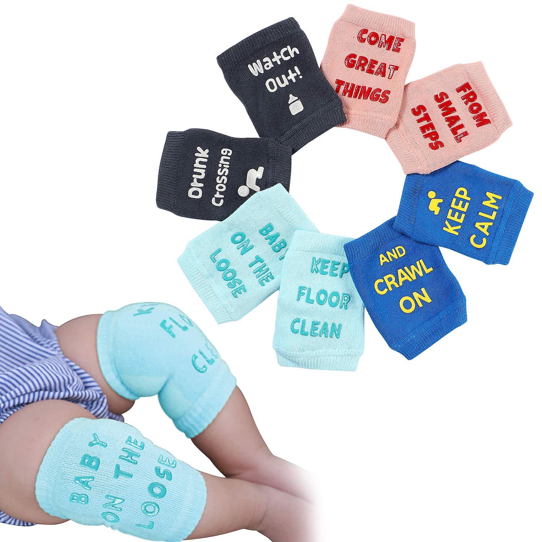 Baby Krabbelhilfe Knieschützer für Strumpfhosen Krabbeln Knieschoner Socken