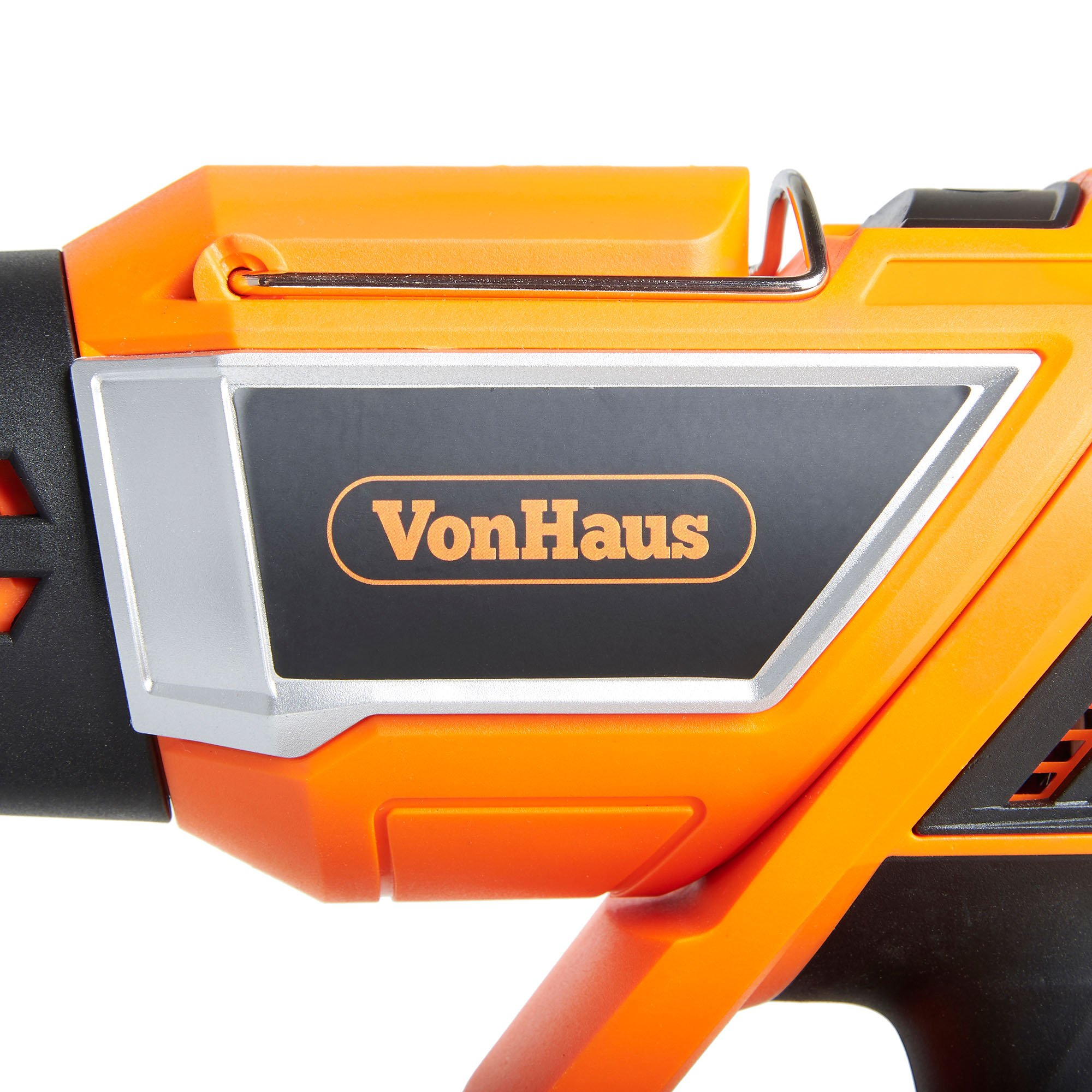 VonHaus 1500W Heat Gun Hot Air Gun with Variable Temperature Control, 3-Position Adjustable Handle and 5 Nozzle Attachments for Shrinking PVC, Removing Paint, Bending Pipes, BBQ Grills by VonHaus (Image #7)