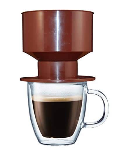 Amazoncom Brew One Single Cup Non Electric Coffeemaker With
