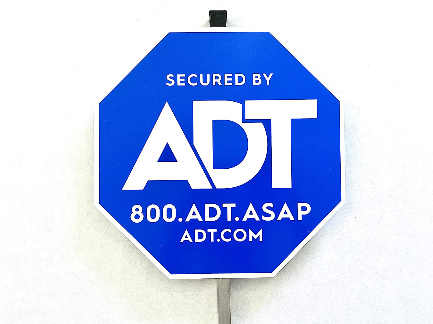 "ADT Security Home Yard Sign 10"" x 10"" with Aluminum Pole 28"""
