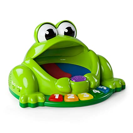 d68d700c5842 Bright Starts Pop and Giggle Pond Pal Toy  Bright Starts  Amazon.co.uk  Baby