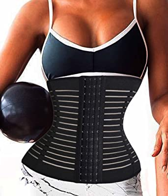 f5d8143317fe4 TAILONG Corset for Weight Loss Sport Body Shaper Fat Burner Tummy Waist  Trainer (XXXL (