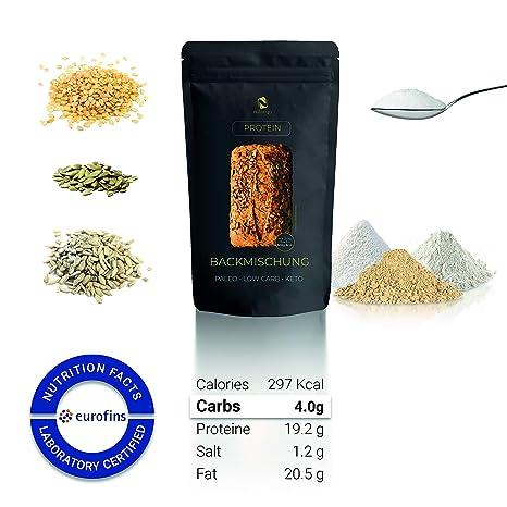 Nutringo Mezcla para hornear pan de proteínas - paquete 10 panes ...