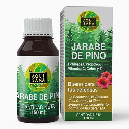 Jarabe de Pino - Aquisana | Jarabe con Equinacea + Propóleo + ...