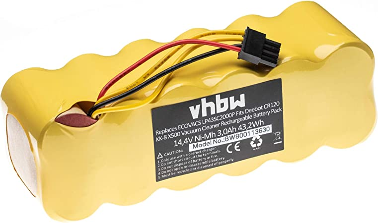 vhbw Batería de repuesto para robot aspirador doméstico Ariete ...