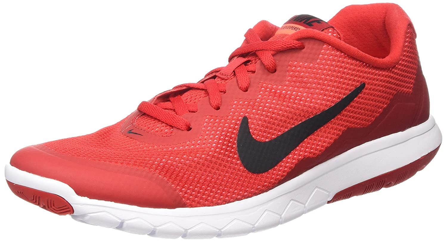 Nike Herren Flex Experience Run 4 Sneaker, UK  44 EU|- Unvrsty Red/Blk-gym Rd-ht Lv