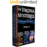 The Virginia Mysteries Box Set 2: Secret of the Staircase, Midnight at the Mansion, Shadows at Jamestown