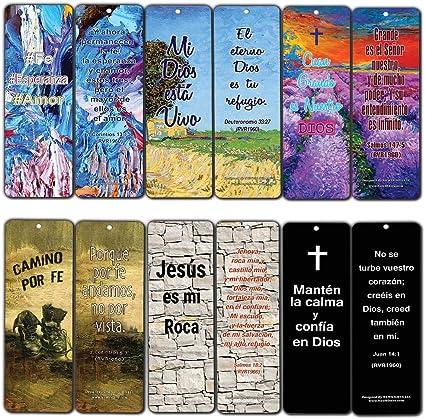 Marcapáginas de la Biblia favorita española – populares versiones inspiradoras de la Biblia: Amazon.es: Juguetes y juegos