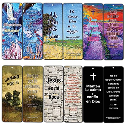 Amazon.com: Spanish Favorite Bible Verses Bookmarks (30-Pack) - Great Giveaways for Ministries with Encouraging and Inspirational Messages: Arts, ...