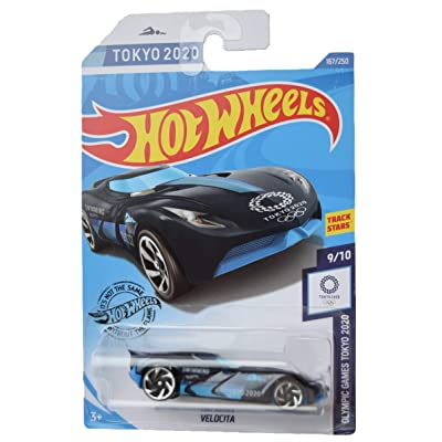Hot Wheels 2020 Olympic Games Velocita 167/250, Dark Blue: Toys & Games