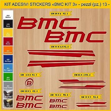 Kit Pegatinas Stickers Bicicleta BMC -Kit 3-13 Piezas- Bike Cycle ...