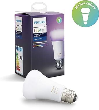 Philips Hue Blanc /& couleur ambiance 2 E27 DEL Dimmable Smart Ampoules variateur d/'intensité