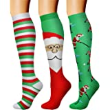 Compression Socks (3 Pairs) 15-20 mmhg is BEST Athletic & Medical for Men & Women, Running, Flight, Travel, Nurses,Edema