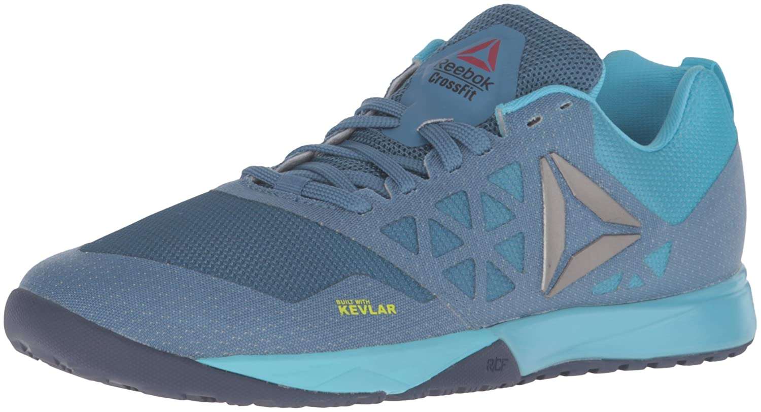 reebok crossfit shoes blue. amazon.com | reebok women\u0027s r crossfit nano 6-0 cross-trainer shoe fitness \u0026 cross-training shoes blue p