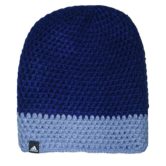 4f3af5a5f5d50 adidas Performance Women s Climaheat Crochet Knitted Beanie Hat - Purple -  Small