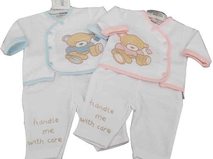 BNWT para bebé (talla bebés prematuros Reborn ropa 2 piezas teddy ...