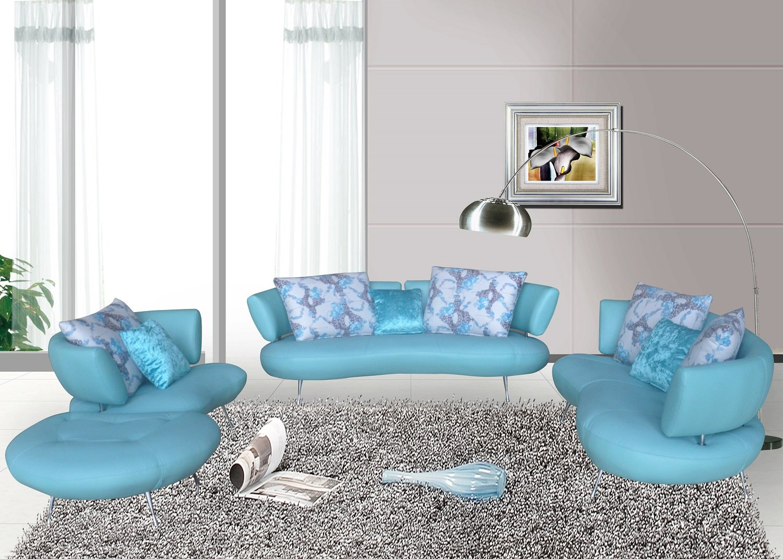 Amazon.com: US Pride Furniture Adelina 4 Piece Modern Top Grain ...