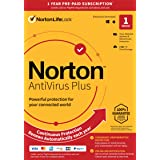 Norton AntiVirus Plus 2021 – Antivirus software for 1 Device with Auto-Renewal - Includes Password Manager, Smart Firewall an