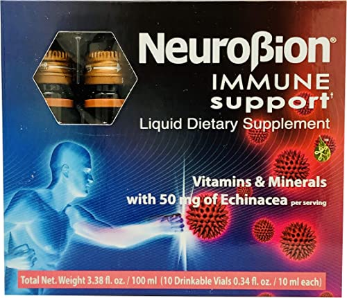 Neurobion Immune Support with Echinacea Zinc 10 vials x 10 ml