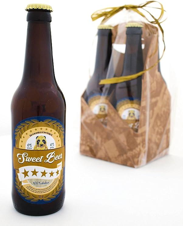 Estuche Regalo de 4 Botellas de Cerveza Dulce: Amazon.es: Alimentación y bebidas
