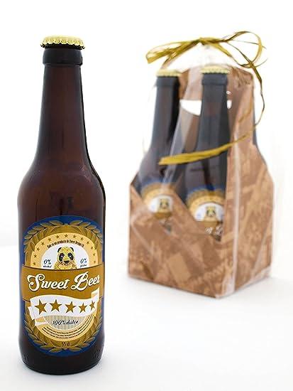 Estuche Regalo de 4 Botellas de Cerveza Dulce: Amazon.es ...