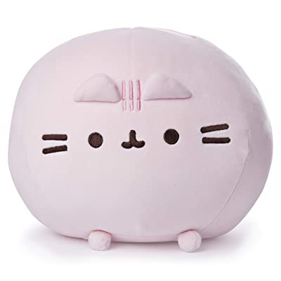 "GUND Pusheen Squisheen Squishy Plush Stuffed Cat, Pink, 11"": Toys & Games"