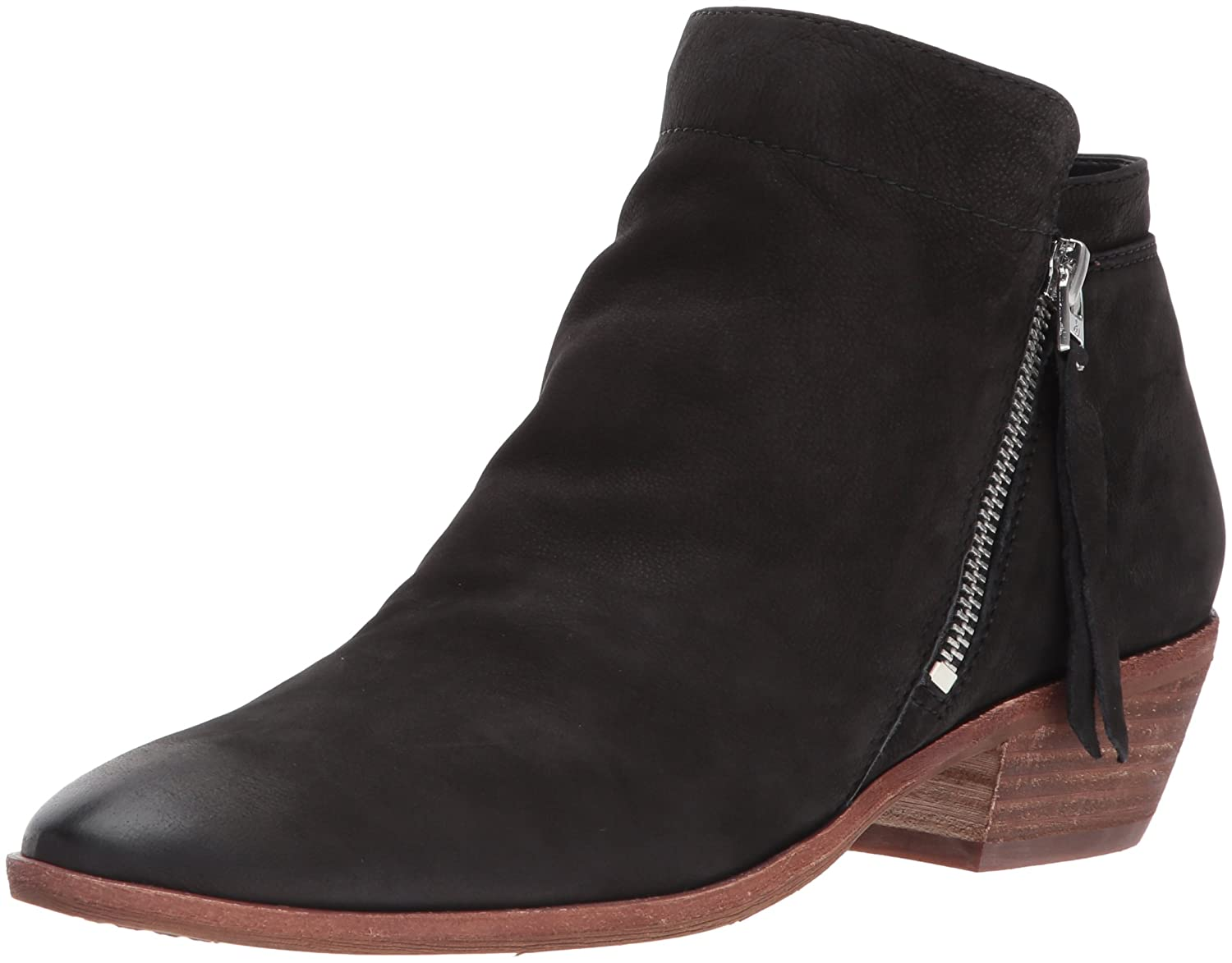 Sam Edelman Women's Packer Ankle Boot B06XC9J9J8 12 B(M) US|Black Leather