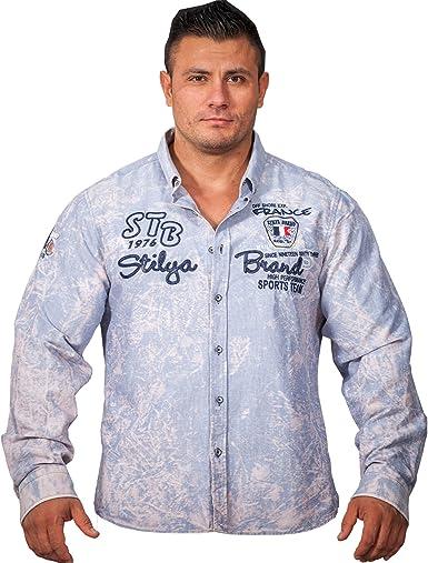 stilya Diseño Luxus Camisa sport – Camisa para hombre señor ...