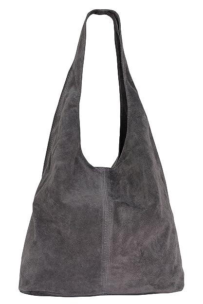 Ambra women s suede handbag fda31747aad5b