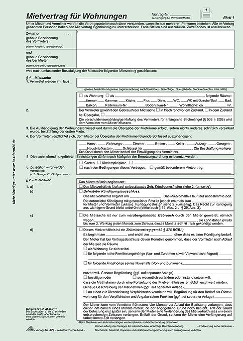 Rnk 52310 Kaufverträge Und Mietverträge Mietvertrag Universal 10